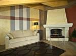 Hotel Concordia, Livigno, Wohnzimmer in Luxussuite