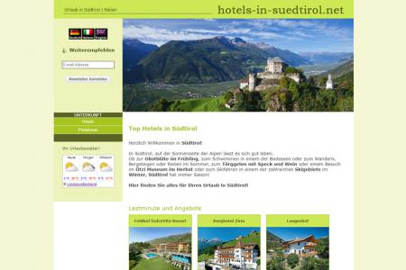 Hotels in Südtirol